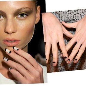 Spring 2011 Nail Trends: HalfMoon