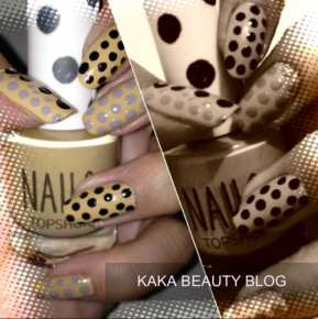 Dotty for Dots! Topshop inspired Polka Dot Nail artdesign