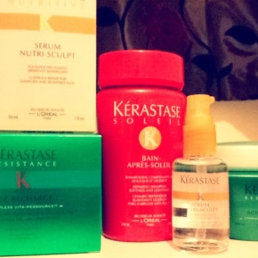 Discovering Kérastase for long & damaged hair!