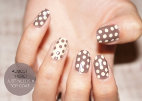 HOW TO: POLKA DOT NAILS