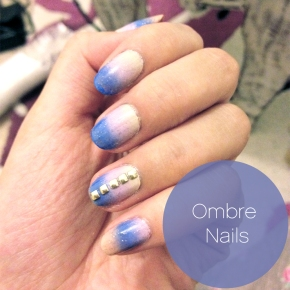 Artsy Wednesday: Ombré Nails