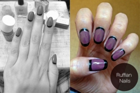 Artsy Wednesday: Ruffian Nails