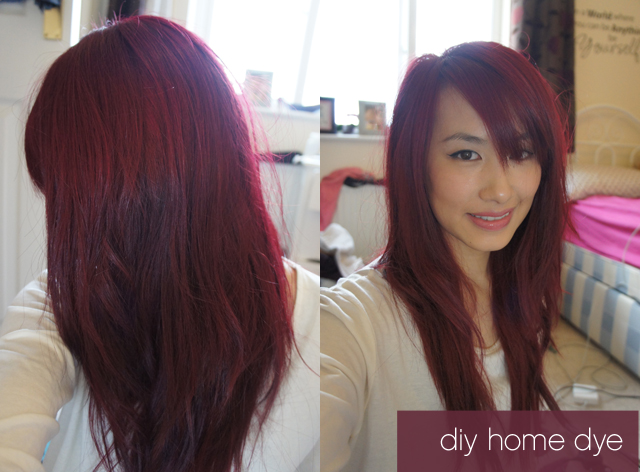 Seeing red at home diy hair colouring kaka beauty blog solutioingenieria Images