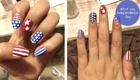 Artsy Wednesday: Independence DayNails
