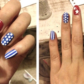 Artsy Wednesday: Independence Day Nails