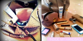 INSIDE MY BAG..