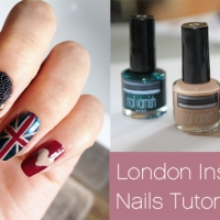 London Inspired Nail Art Video Tutorial