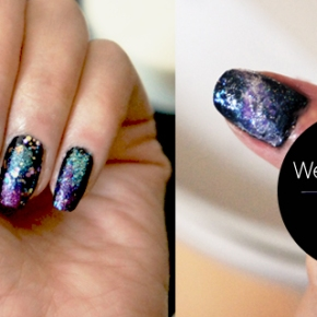 Artsy Wednesday: Galaxy Nails