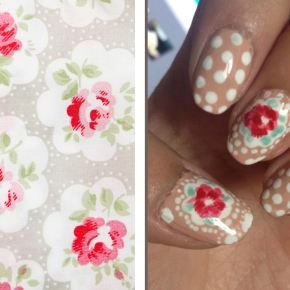 ARTSY WEDNESDAY: PRINT/ PATTERN INSPIRED NAILS