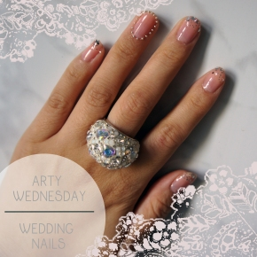 ARTY WEDNESDAY: WEDDING NAILS