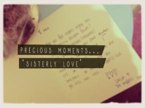 Precious moments inlife…