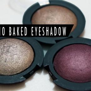 elf Baked EyeshadowSwatches