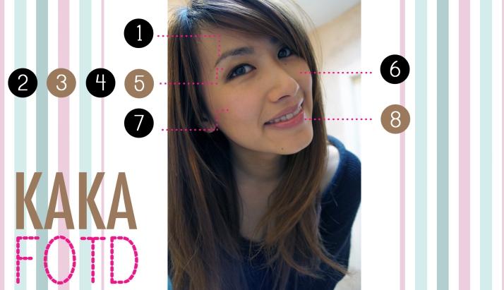 FOTD: Every Day Natual Makeup look