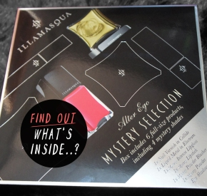 WHAT'S INSIDE THE ILLAMASQUA MYSTERY SELECTION?