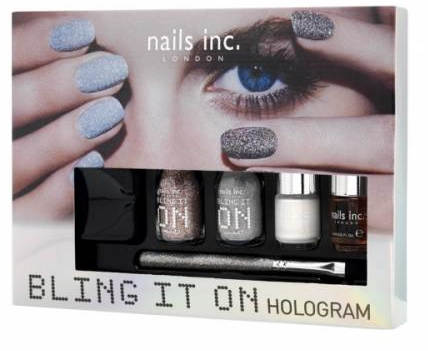Nails inc Bling it On Hologram