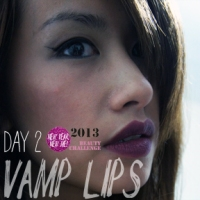 10 DAY BEAUTY CHALLENGE: VAMP LIPS