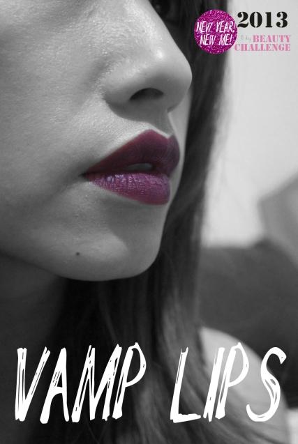 Vamp Lipstick look