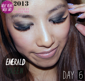 DAY 6 CHALLENGE:  AW12/13 EMERALD GREEN EYES TREND