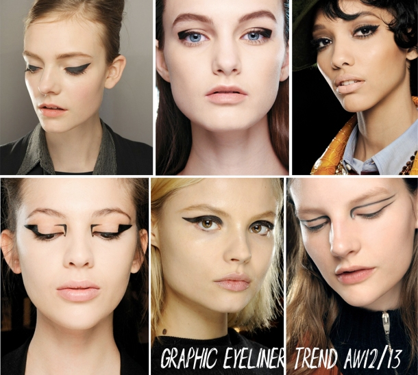 GRAPHIC EYE LINER TREND