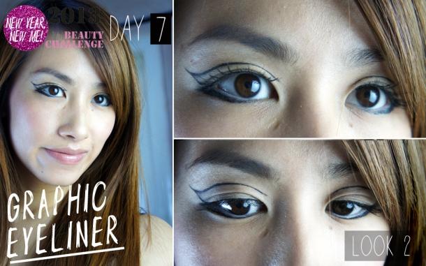 FOTD: Graphic Eyeliner
