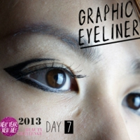 DAY 7 CHALLENGE: GRAPHIC EYELINER