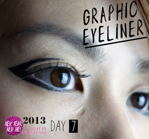 DAY 7 CHALLENGE: GRAPHICEYELINER