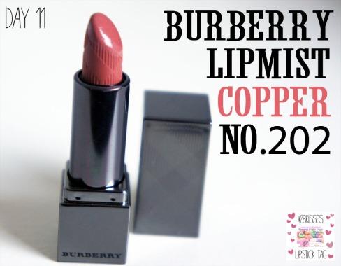 Burberry Lip mist in copper 202