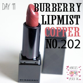 #28KISSES LIPSTICK TAG: DAY11