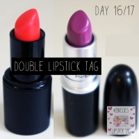 #28KISSES LIPSTICK TAG: DAY 16 & 17