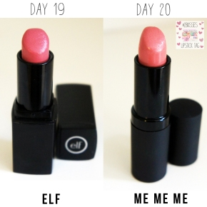 28KISSES LIPSTICK TAG: DAY 19/ 20