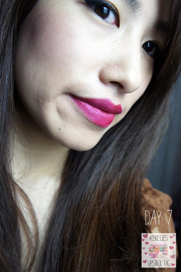 Illamasqua Lipstick in Atomic