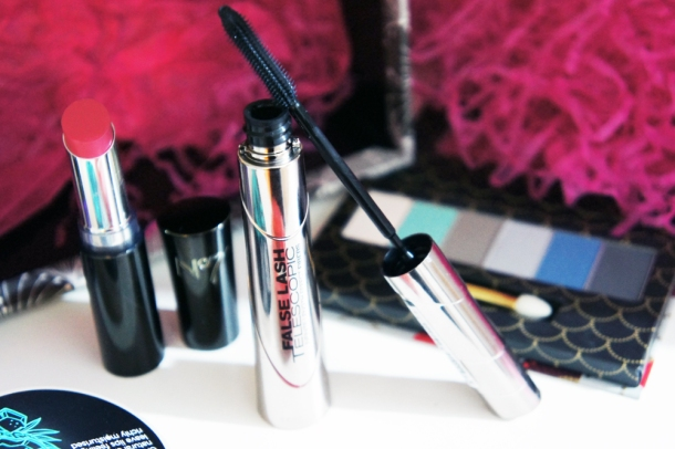 L'oreal False Lash Telescopic Mascara in Magnetic Black