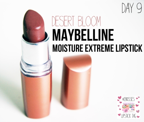 maybelline moisture extreme Lipstick in desert bloom