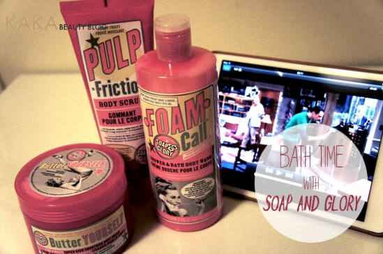 Soap & Glory Bath Time!