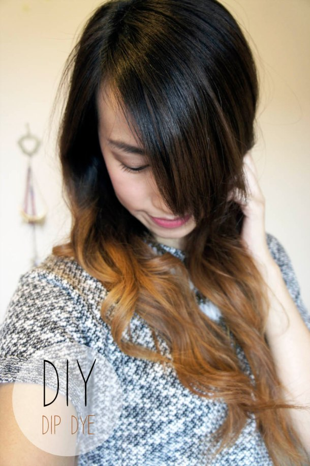 LOREAL DIP DYE OMBRE HAIR RESULTS
