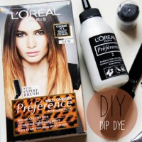 KAKA KA'TCH UP! DIP DYE HAIR, NAILS AND LIPPIES!