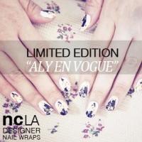 NCLA DESIGNER NAIL WRAPS 'ALY EN VOGUE' *