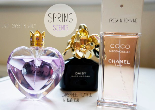 SPRING TIME FRAGRANCES