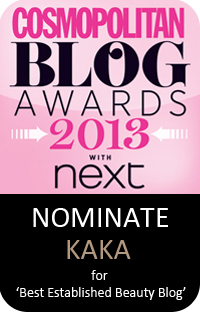 cosmo blog awards nomination 2013