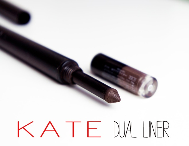 KATE COSMETICS DUAL EYELINER REVIEW