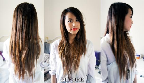 LONG HAIR (BEFORE)