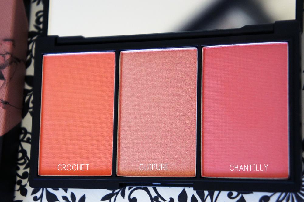 sleek blush by 3 blusher palette in lace 367 review kaka