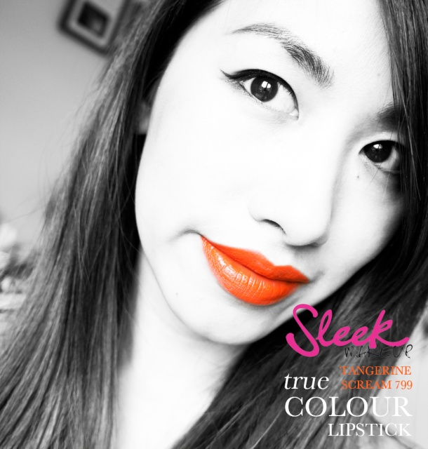 SLEEK TRUE COLOUR LIPSTICK IN TANGERINE SCREAM 799