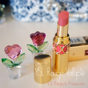 YSL Rouge Volupté in 13 Peach Passion