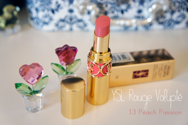 YSL Rouge Volupté Lipstick 13 Peach Passion