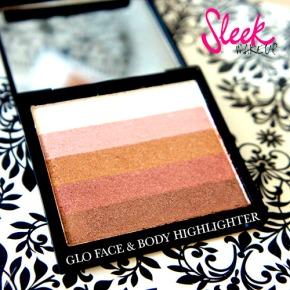 SLEEK GLO FACE & BODY HIGHLIGHTER :FOTD