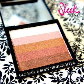 SLEEK GLO FACE & BODY HIGHLIGHTER : FOTD