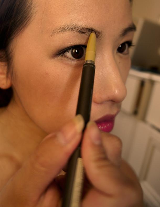 [Skin Food] Black Bean Eyebrow Pencil review