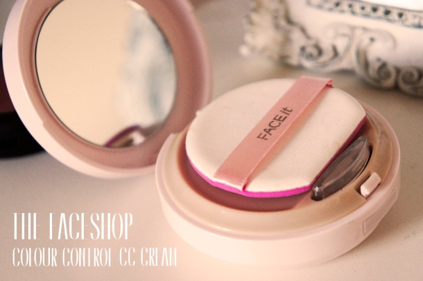 The Face Shop Colour Control CC Cream review