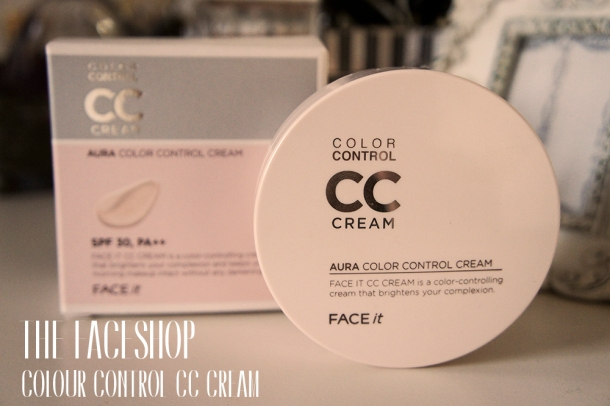 The Face Shop Colour Control CC Cream review